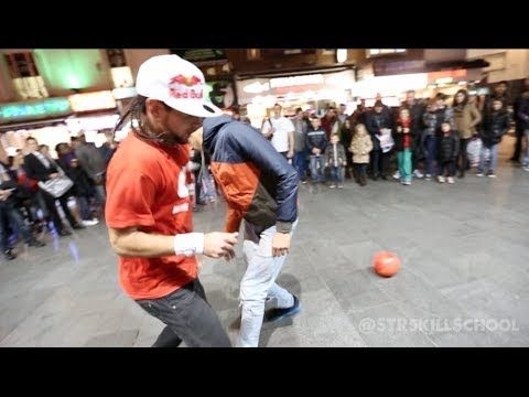 Insane STREET Football Skills - Panna London Pt2 Séan Garnier :: he turned like 6 people into juice.
