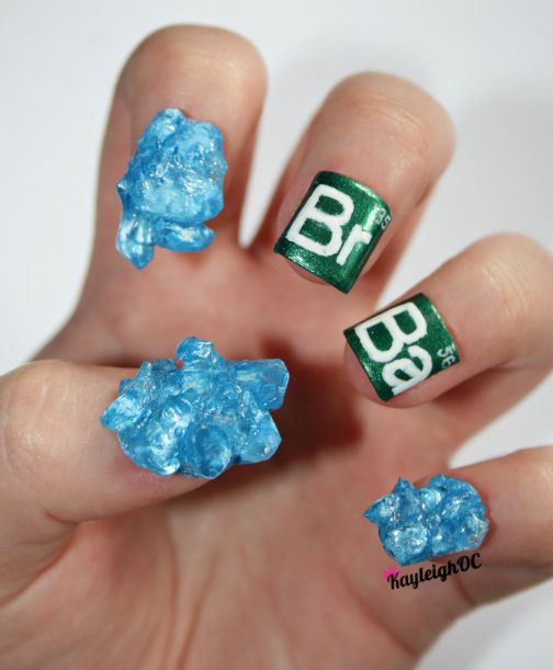 And Breaking Bad came to an end. | The Year 2013 As Told By Nail Art