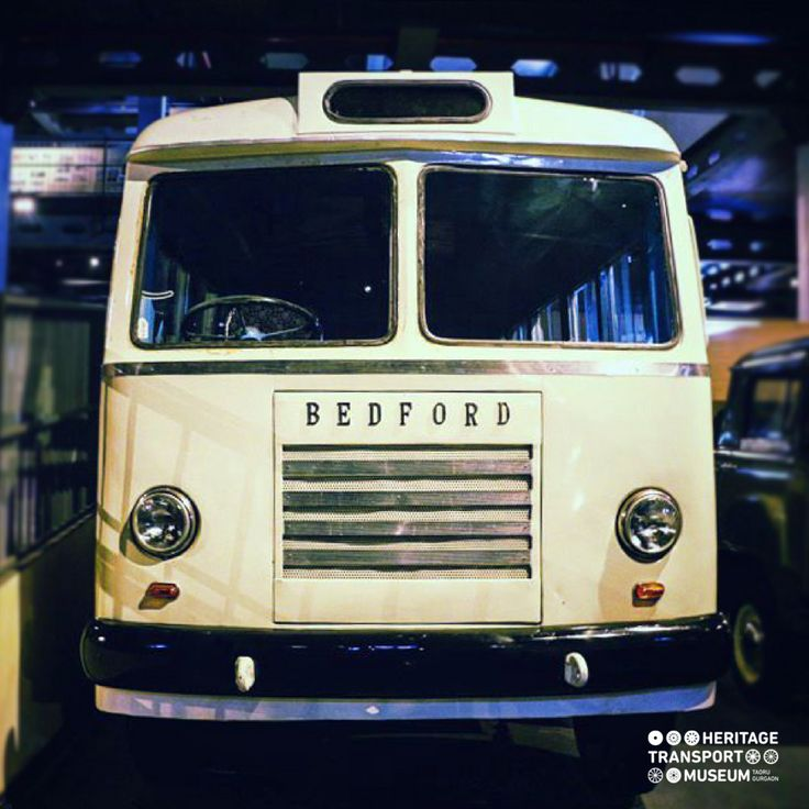 A 1960 Hindustan Bedford bus is amongst the ones produced by Hindustan Motors & Bedford in collaboration.     #bedford #bus #vintagetransport #transportmuseum #vintagecollection #vintagevehicles #gurugram #delhi #manesar #incredibleindia #exhibit