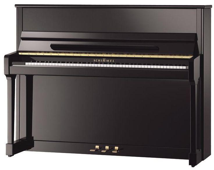 Schimmel C116: Un bel instrument européen, une sonorité tout en finesse, un excellent piano droit.