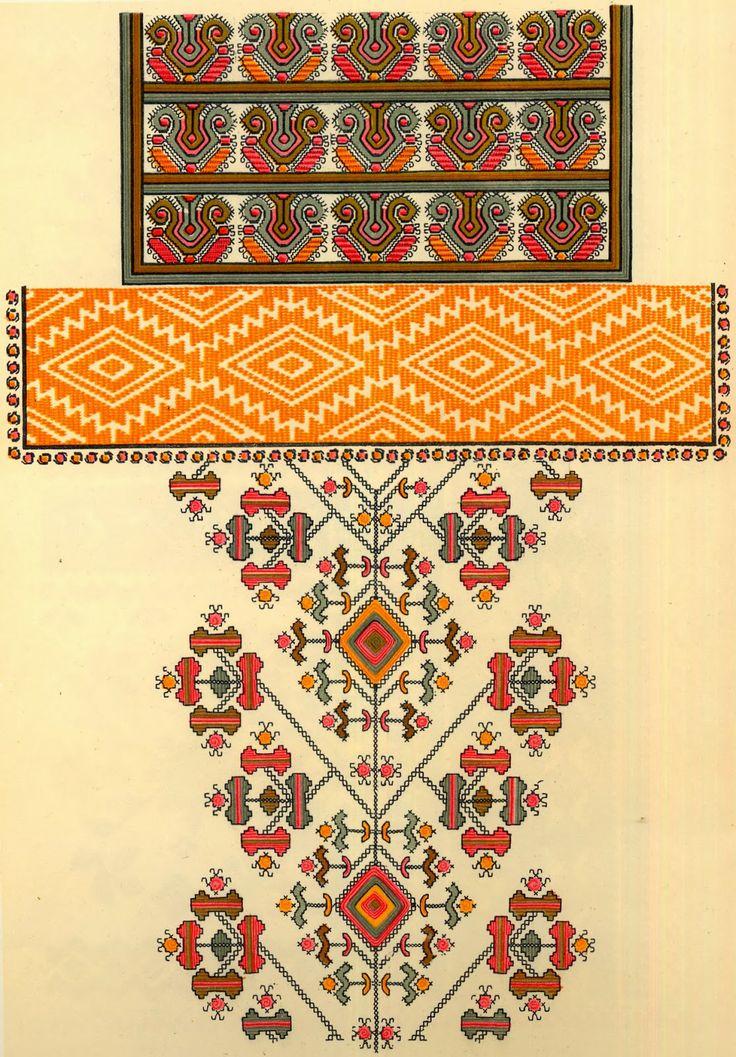 Folk Embroidery of Zastawna county, Cherniwtsi oblast, Bukovyna, Ukraine