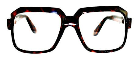 Harry Square Clear Glasses - 302A Tortoise