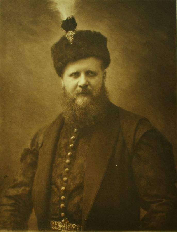 Count Karol Lanckoroński (1848-1933) was a Polish writer, art collector, patron, historian, traveler, and vice-president of the Society for Cultural Protection in his native Galicia. He was one of the wealthiest and most cultivated magnates in Austrian partition of Poland and in the whole of the Austro-Hungarian Empire. He was a member of the Polish Academy of Learning (Wikipedia).