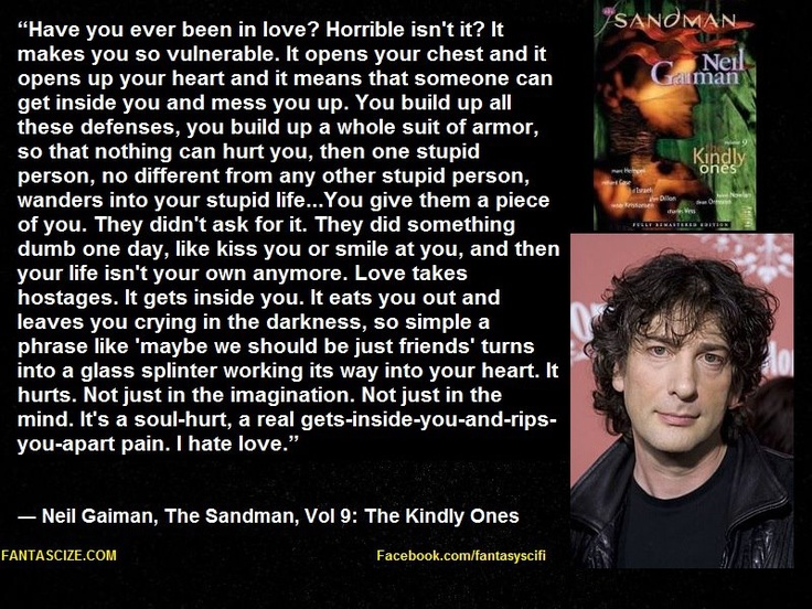 1000 Ideas About Neil Gaiman On Pinterest: 1000+ Images About I F**king HATE LOVE On Pinterest