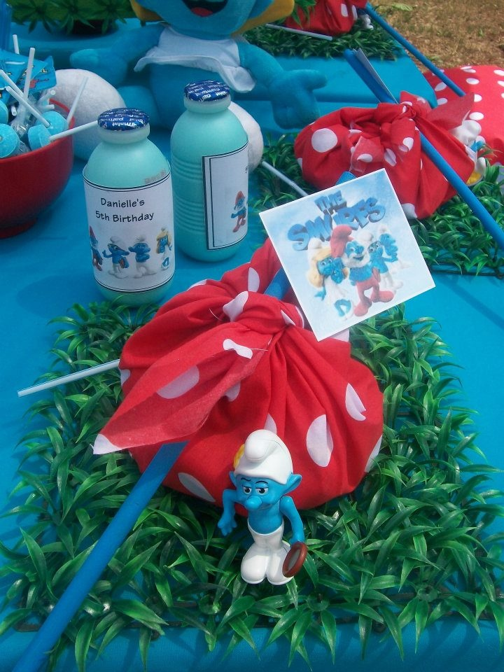 41 best images about Smurfs party on Pinterest | Birthday party invitations, Food ideas and The ...