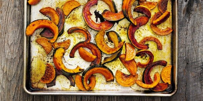 I Quit Sugar: Curry + Turmeric Roasted Squash by Robyn Youkilis