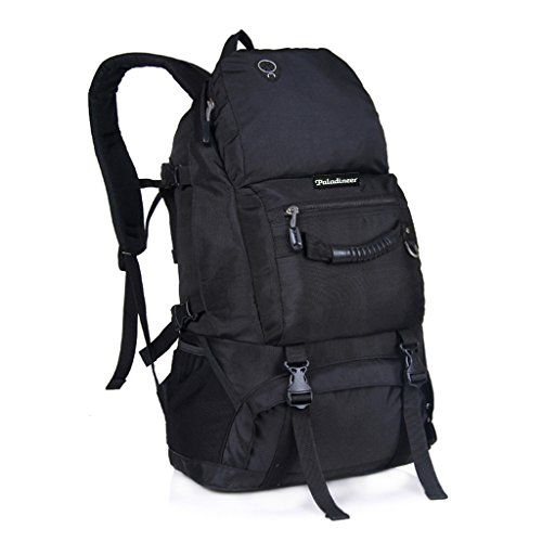 Paladineer Outdoor Hiking Backpack Travel Backpack Camping Daypack 40-liters Black - http://backpackingandcampingessentials.com/backpacking-backpacks/paladineer-outdoor-hiking-backpack-travel-backpack-camping-daypack-40-liters-black/