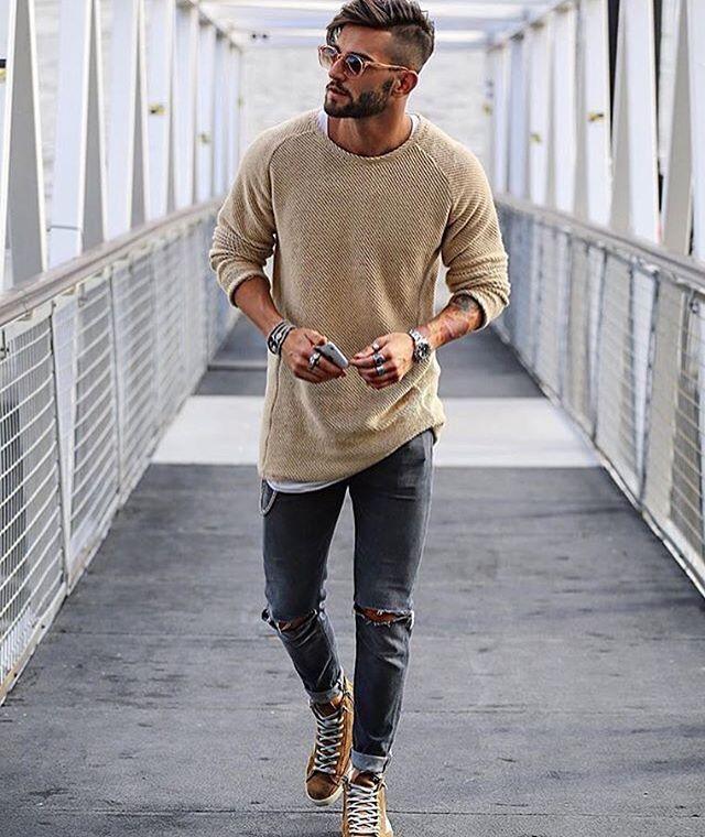 Italiaanse stijl/ herenmode/ casual/ menswear