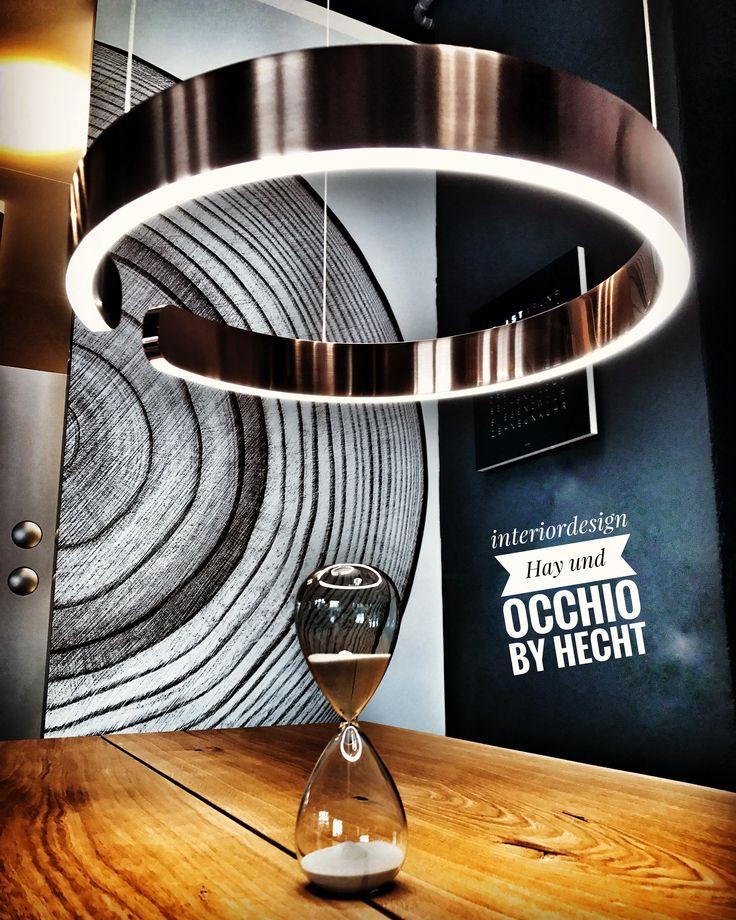 Occhio mito Leuchte mit HAY Time Sanduhr  #hechteinrichtungen #occhio #hay