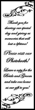 Insert for the photo booth sleeves :-)