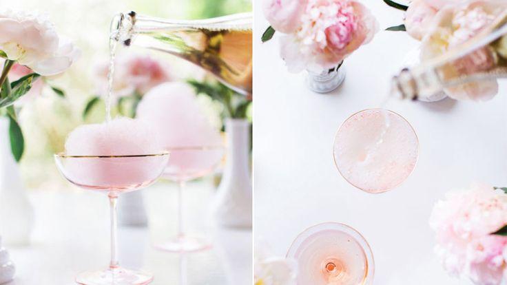 Champagnecocktail med fläder | ELLE