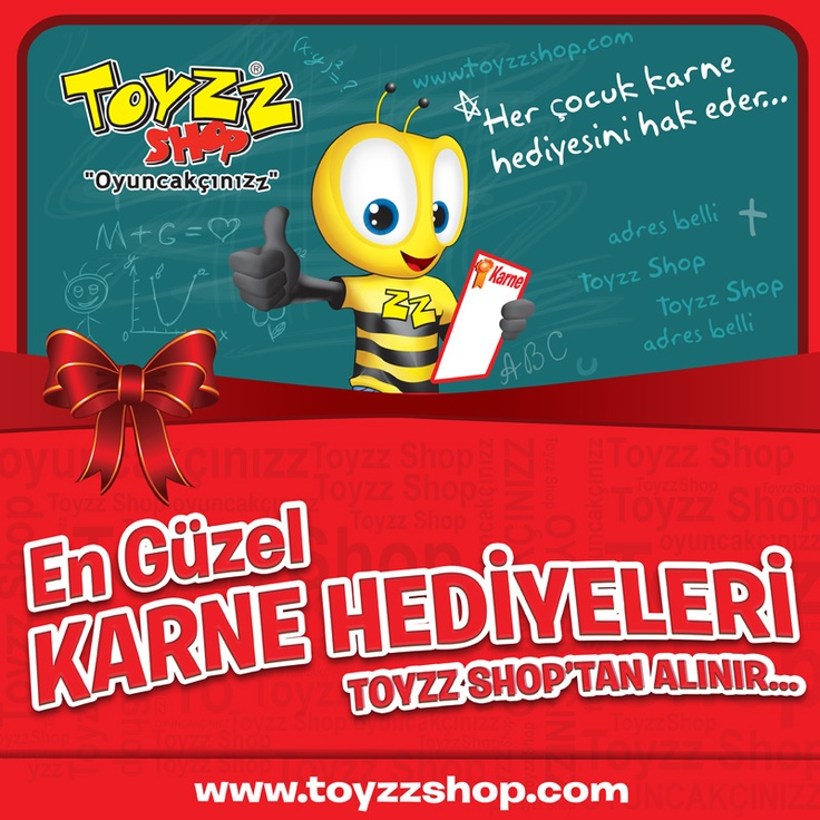 Karne heyecanı başladı!  Yarıyıl tatiline girerken çocuklarınıza en güzel hediyeyi Toyzz Shop mağazalarında bulacaksınız!