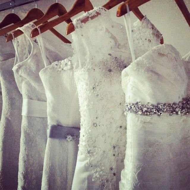 We have a variety of beautiful vintage wedding dresses to choose from!
