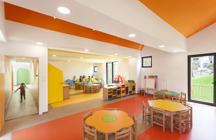 Image 6 of 16 from gallery of Public Nursery in Glyfada / KLab architecture. Photograph by Mariana Bisti