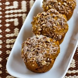 Kalyn's Kitchen: Recipe for Low-Sugar and Whole Wheat Pumpkin Muffins with PecansLow Sugar, Lowsugar, Wheat Pumpkin, Kalyns Kitchen, Healthy Eating, Healthier Recipe, Pumpkin Muffins, Healthy Recipe, Healthy Food