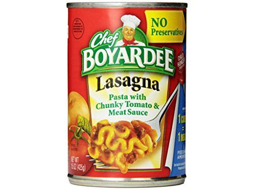 Chef Boyardee Lasagna With Tomato  Meat Sauce  15 oz ** You can get more details by clicking on the image.(It is Amazon affiliate link) #HealthyRecipes