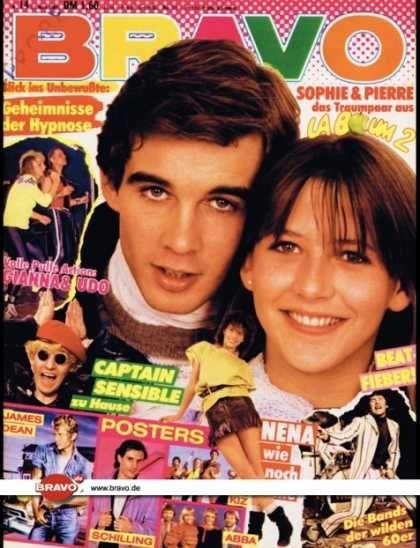 Sophie Marceau - Bravo Magazine [Germany] (30 March 1983)
