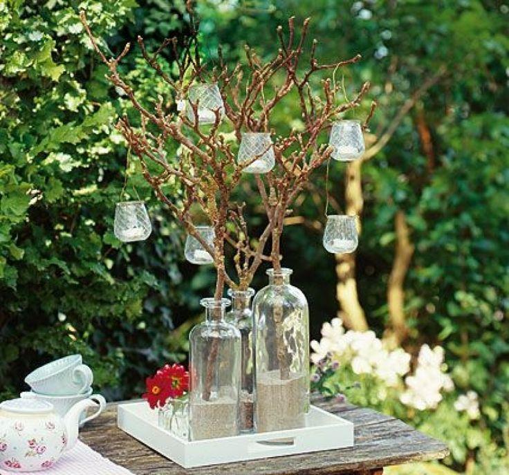 Gartendeko Kreative Deko Fr Balkon Und Garten Kerzenleuchter imZusammenhangmit Home Garten Deko Ideen