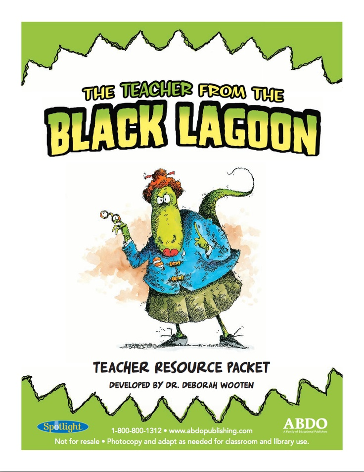the book report from the black lagoon activities The cafeteria lady from the black lagoon by mike thaler and jared lee the book report from the black lagoon by mike thaler book trailer - duration.