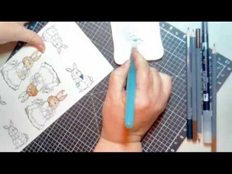 watercolor pencil techniques video