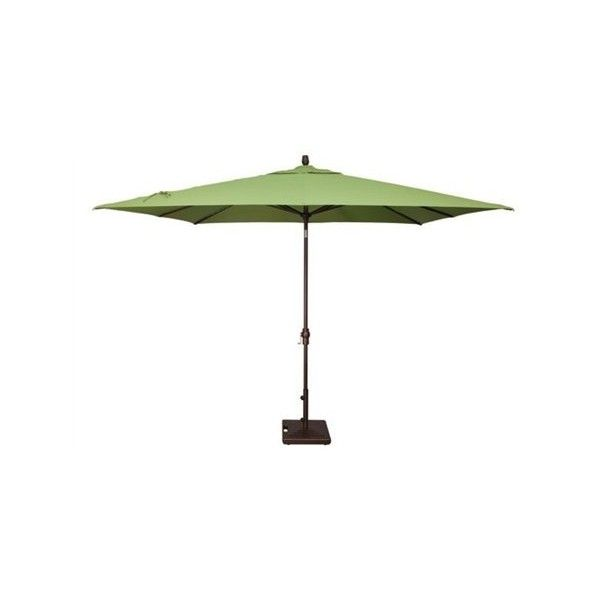 354 liked on polyvore featuring home outdoors patio umbrellas aluminum patio umbrella rectangle outdoor umbrella rectangular patio umbrella - Rectangular Patio Umbrella