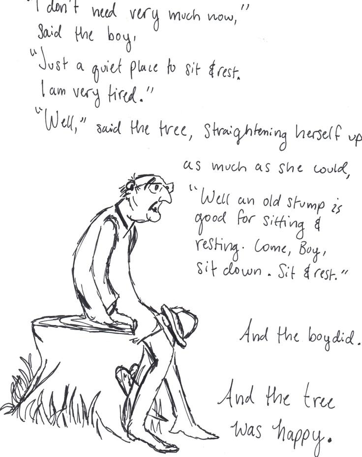 Shel Silverstein Illustrations The Giving Tree | www ...