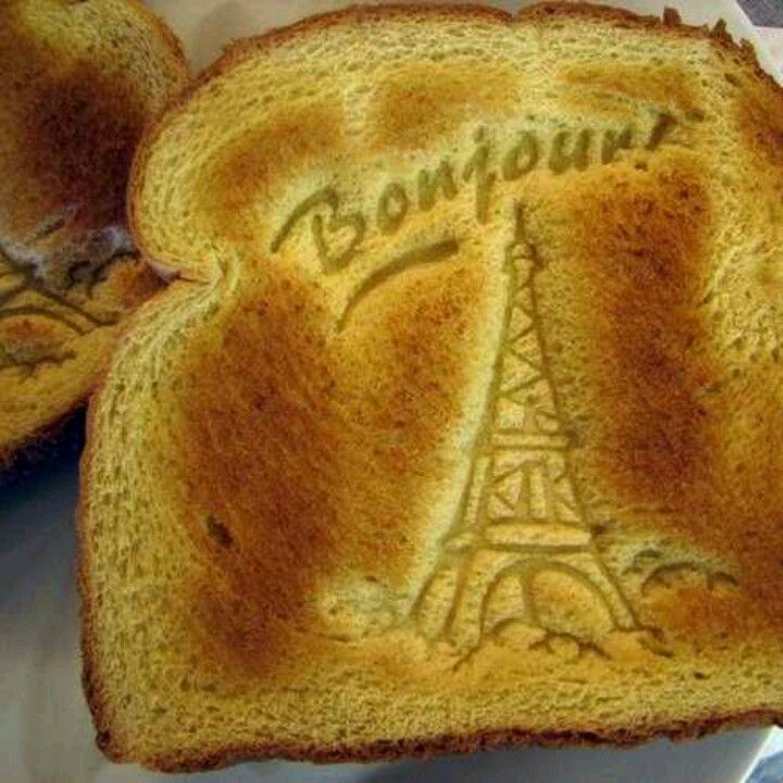 Bonjour! ~ French toast!