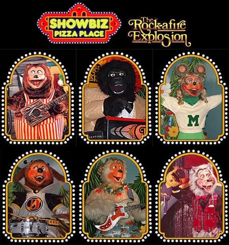BEFORE Chucky Cheese there was Billy Bob & Showbiz!!