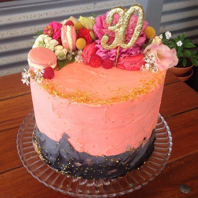 Birthday Cake! #saresthirty #thishappened #nofilter