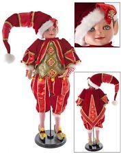 "Katherine's Collection 32"" Noel Christmas Elf Doll NEW 28-628039"