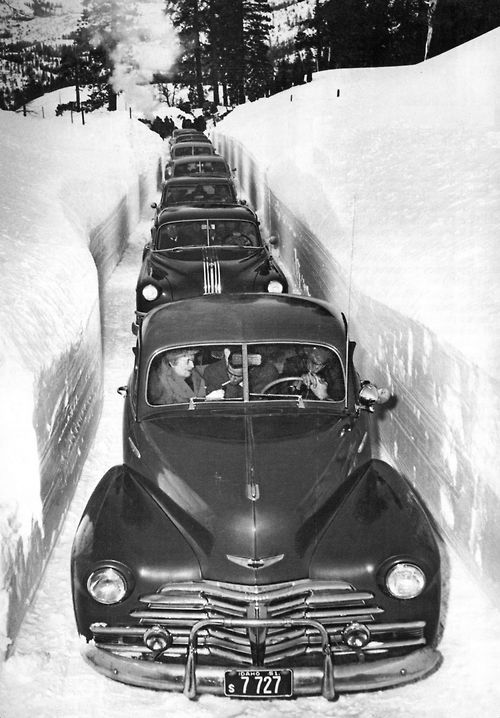 Ton of Snow - Idaho, 1952