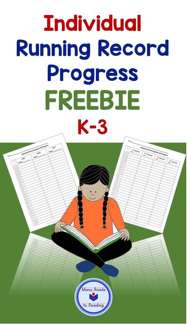 Chart your students' progress in reading, based on running records you take three or four times a year. This resource is taken from Midyear Literacy Benchmark Assessment: Grade 1, but can be used K-3. https://www.teacherspayteachers.com/Product/Midyear-Literacy-Benchmark-Assessment-Grade-1-2938985