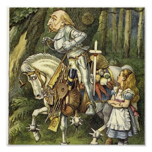 Image result for alice in wonderland  1951 white knight
