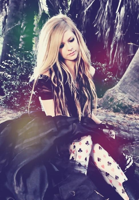 Avril Lavigne. Alice. <3 this makes me happy beyond belief.