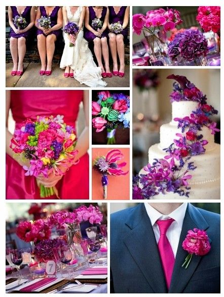 Pink And Purple Wedding Theme Ideas Choice Image