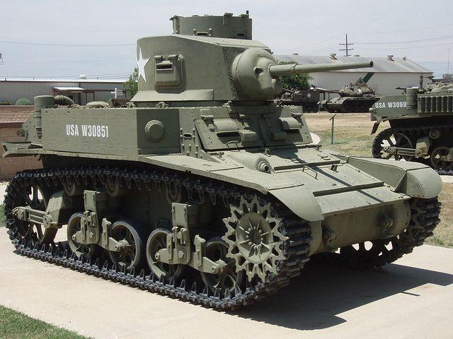 Le char M3 Stuart ou Light Tank M3