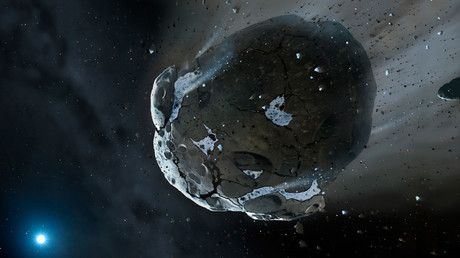 'Close shave:' Russian astronomers visualize large asteroid flying past Earth next month (VIDEO) https://tmbw.news/close-shave-russian-astronomers-visualize-large-asteroid-flying-past-earth-next-month-video  A team of Russian astronomers has created a detailed visual scenario of what is likely to happen when a fairly large asteroid, called 3200 Phaethon, flies past the Earth in a close shave next month. Take a sneak peek at the dazzling video.On December 17, this asteroid, measuring nearly 5…