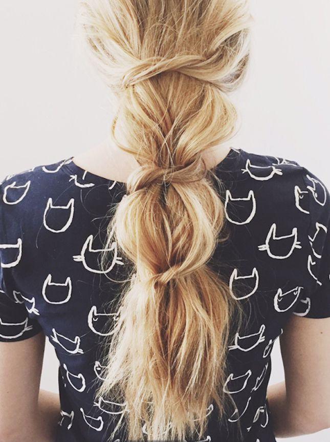 Glam up your ponytail with this easy DIY.