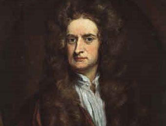 Исаак Ньютон, портрет с сайта historyguide.org