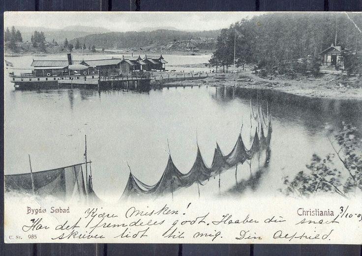 Bygdø Søbad. Christiania- brukt -1903