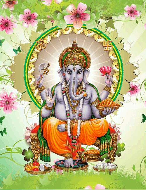 Gif Namah Om Animated Shivaya