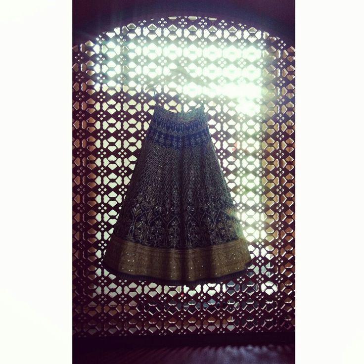 #AnitaDongre #Bridal #couture #gotapatti #lehenga #orange #rajasthan #handcrafted #handmade #luxury #couture