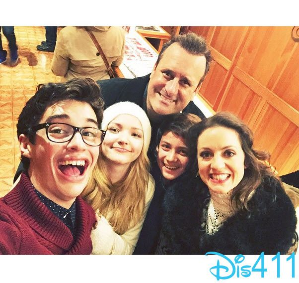 "Photos: ""Liv And Maddie"" Cast At The 83rd Annual Hollywood Christmas Parade November 30, 2014"