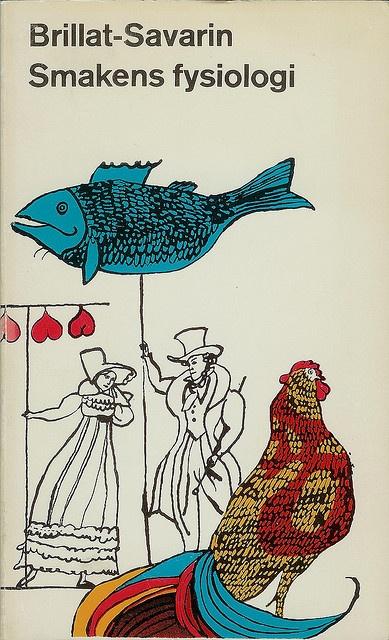Brillat-Savarin, Smakens fysiologi, cover by Per Åhlin
