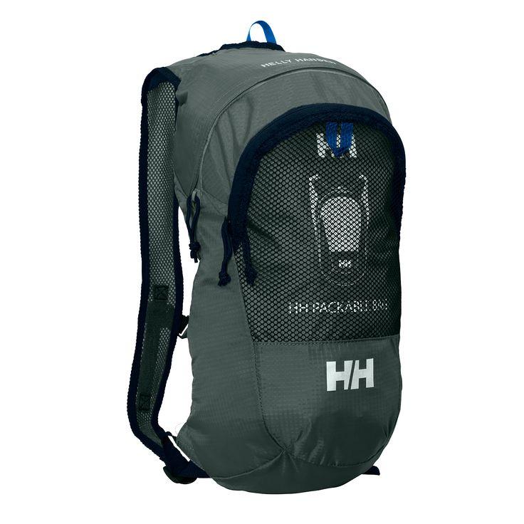 Helly Hansen Packable hátizsák rock színben. Kis méretű, ultra könnyű (226g. !!!) hátizsák, amit pénztárca méretűre csomagolhatunk ha nincs rá szükség!
