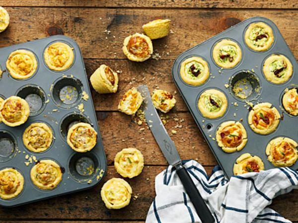 Ricotta- och spenatpaj med soltorkad tomat | Recept från Köket.se