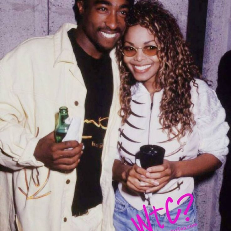 """Good morning! Since #JanetJackson cancelled her #StLouis concert today, this #TBT is for her! #Tupac and that smile though!!"""