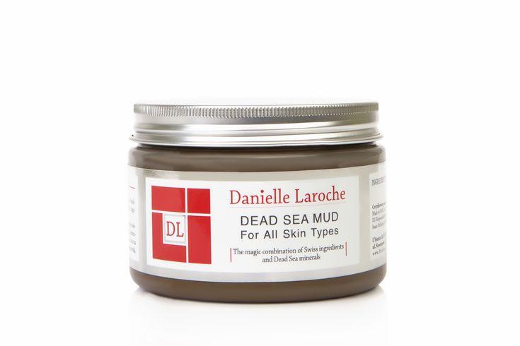 DANIELLE LAROCHE Dead Sea mud. Błoto Morza Martwego, do każdego rodzaju skóry.