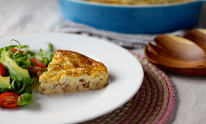 Crustless quiche - Kidspot