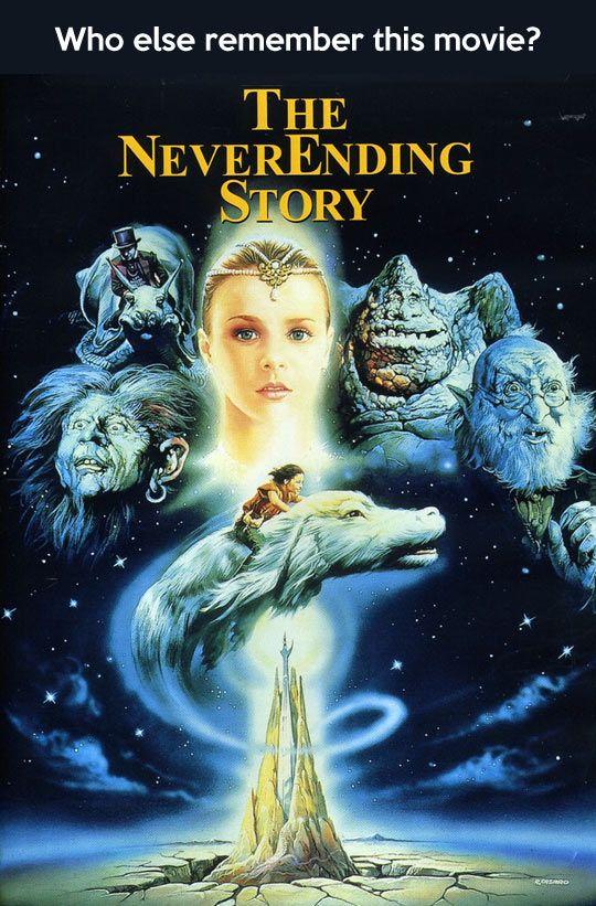 The Neverending Story... ame, amo y amare esta película ...